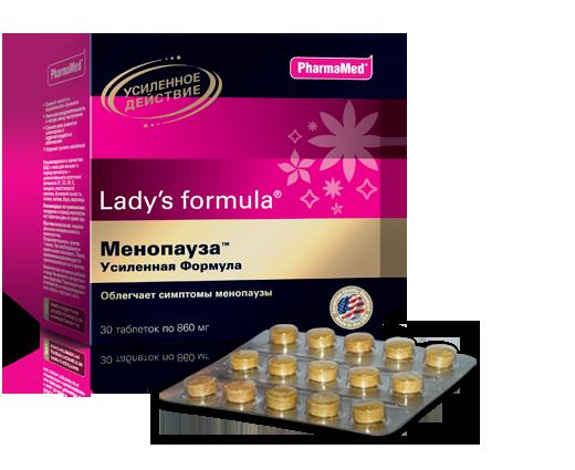 Lady's Formula при климаксе у женщин: инструкция и отзывы